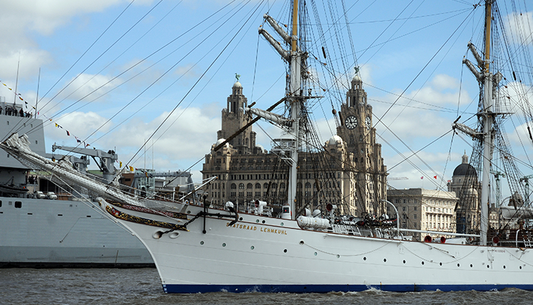 The Tall Ships Coming to Liverpool
