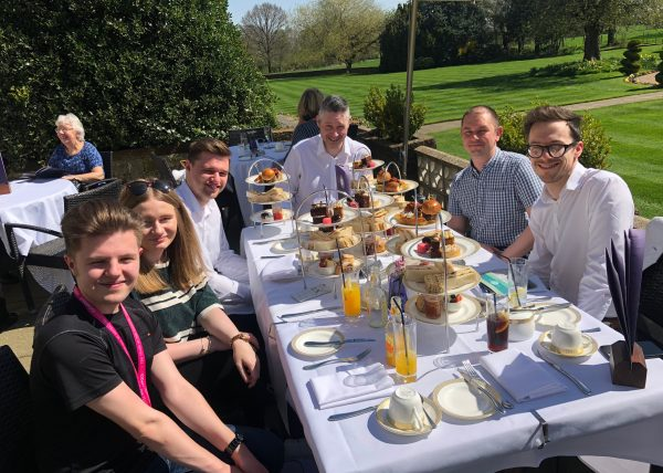 Thornton Hall Afternoon Tea