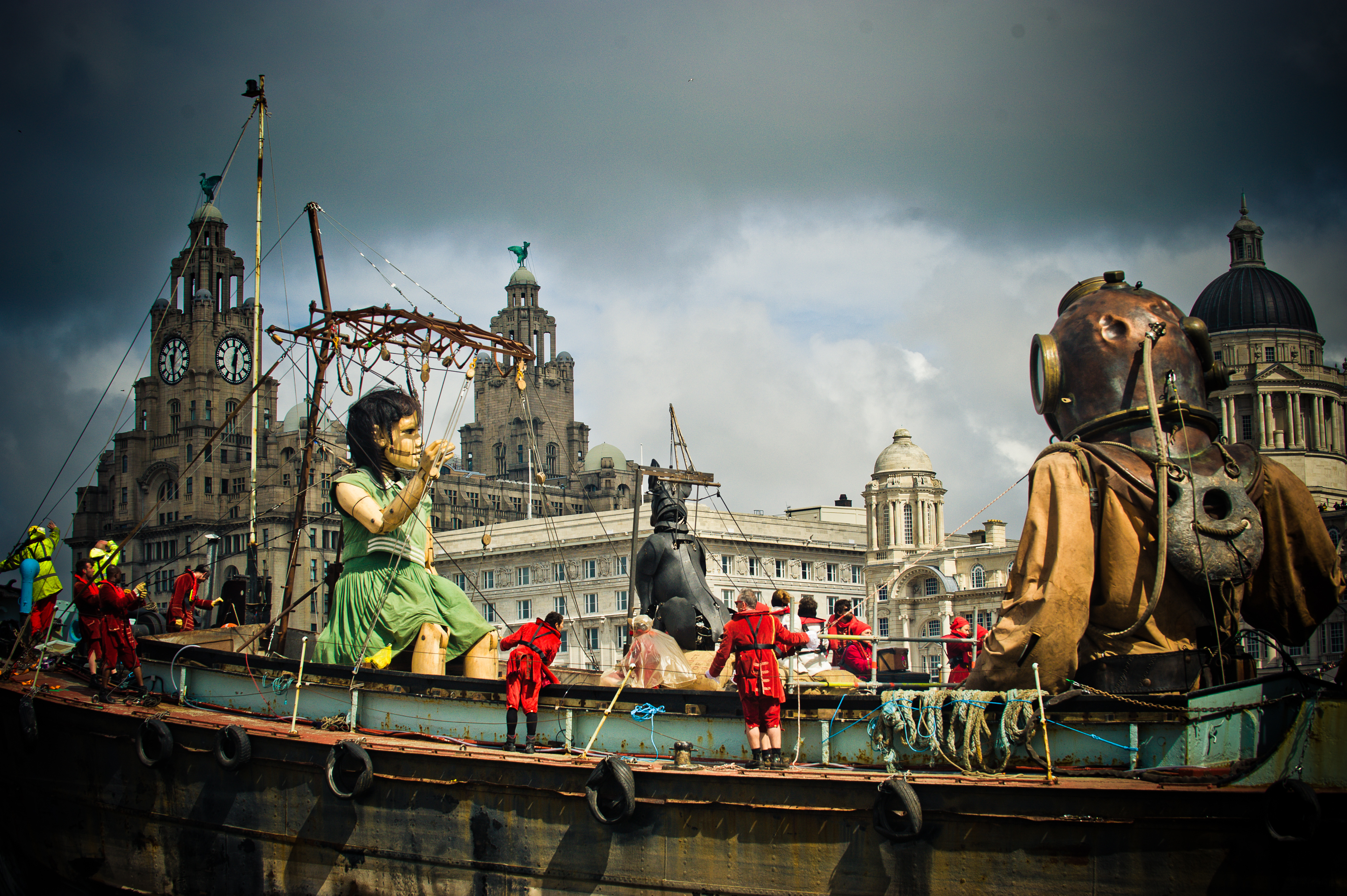 Giants Liverpoolin 2012
