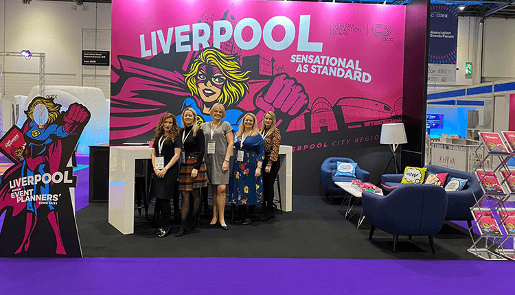The Liverpool City Region Stand at Confex